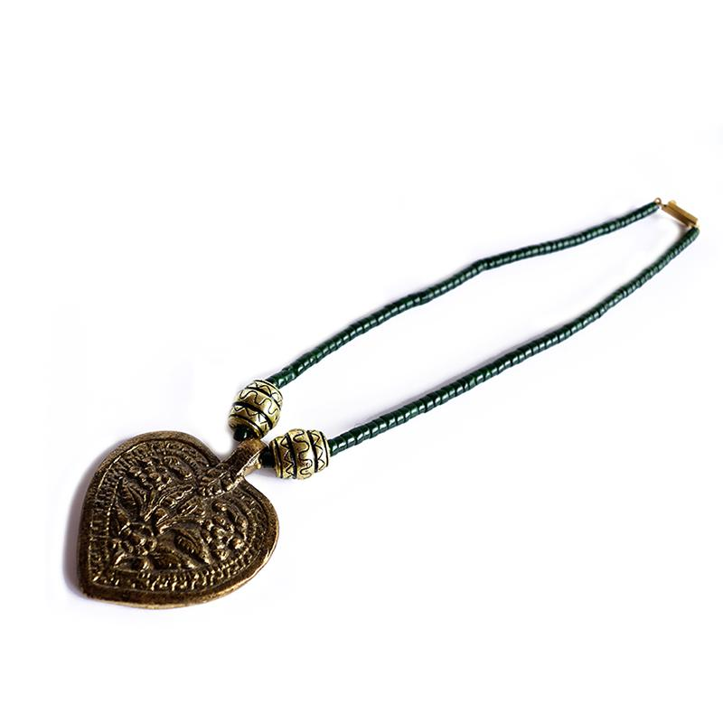 Gypsy Gold Heart Necklace