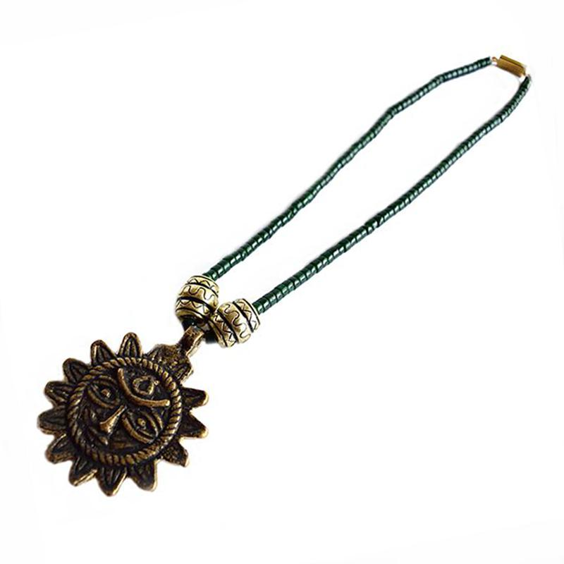 Sun Face Necklace