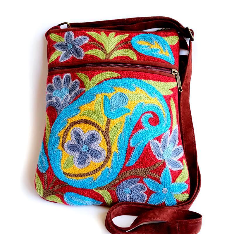 Turquoise Boho Bag