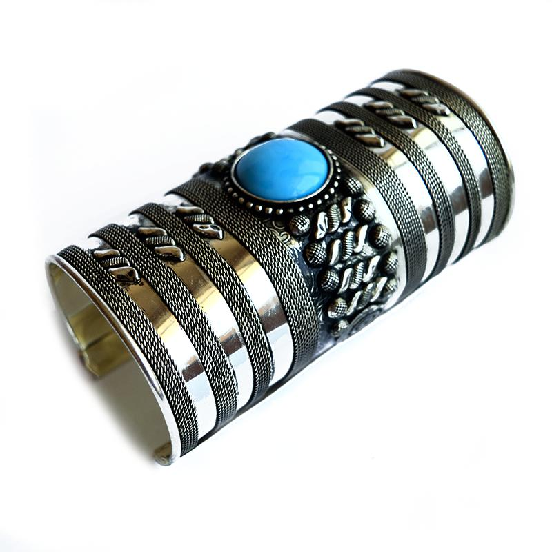 Turquoise Silver Bracelet
