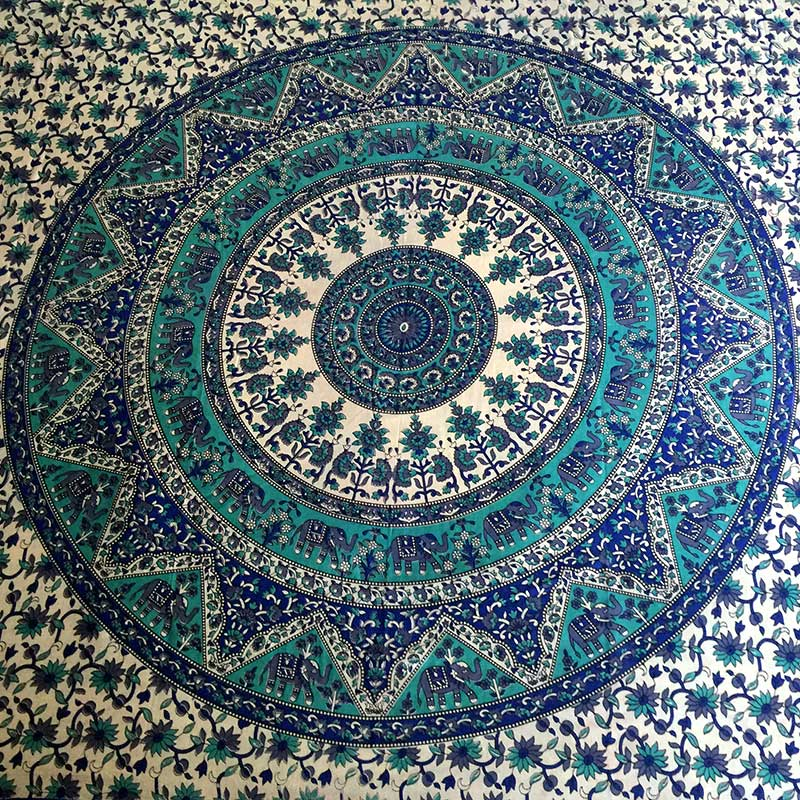 Turquoise-Mandala-Throw